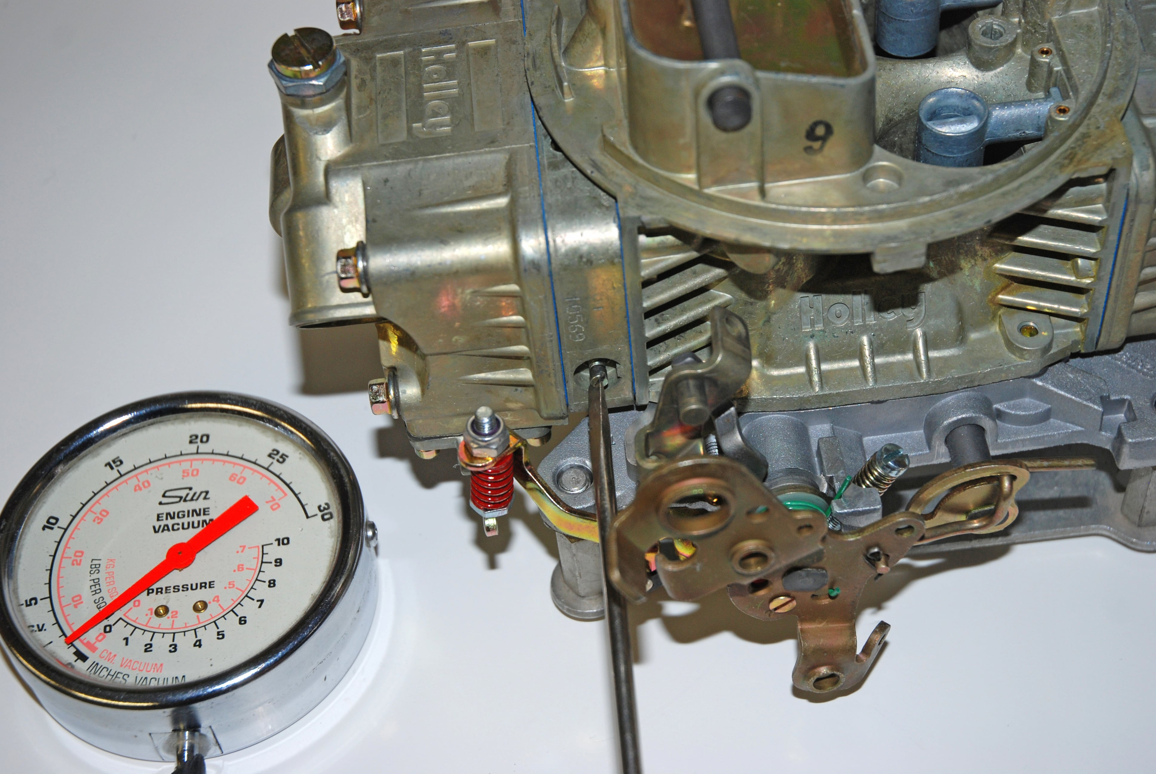 How to Set The Idle on Holley Carburetors