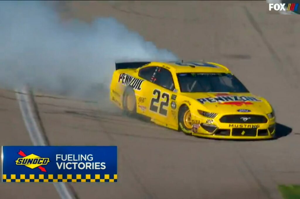 Logano Ruins Rowdy's Hometown Sweep Attempt at NASCAR's Vegas Weekend