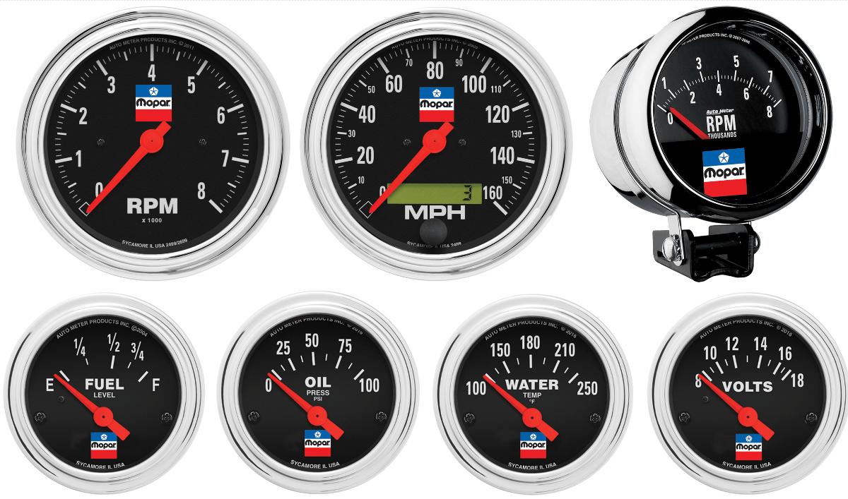 AutoMeter - Mopar Classic Gauges