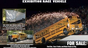 """Today's Cool Car Find is this """"Cool Bus"""" Exhibition Race Vehicle/ Business for $150,000"""