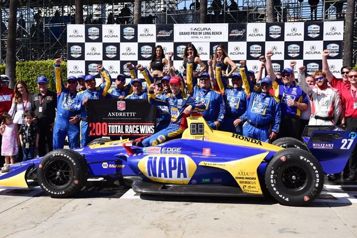 45th Acura Grand Prix of Long Beach an Alexander Rossi Sweep