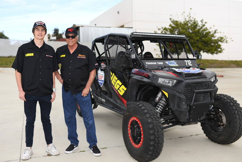 "Don ""the Snake"" Prudhomme Teams with Jagger Jones for Return To Mexican 1000"