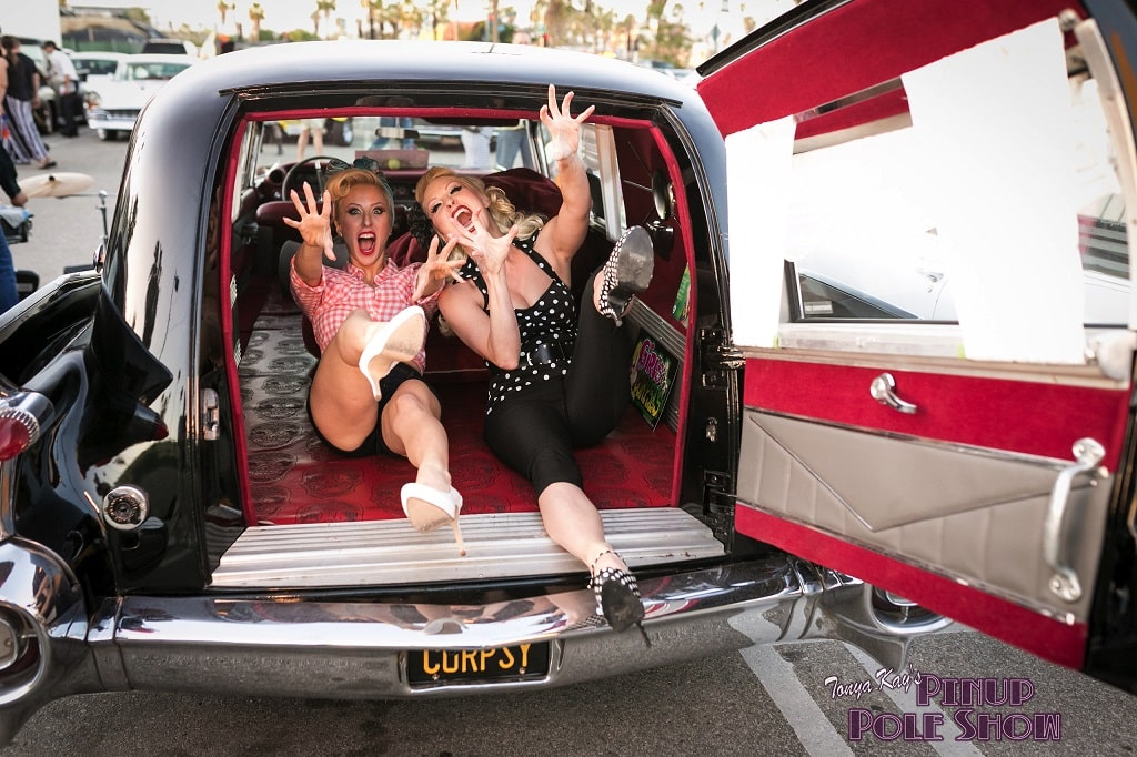 Pinup Pole Show Pinup of the Week: Heather Lou and Tiffany Rose