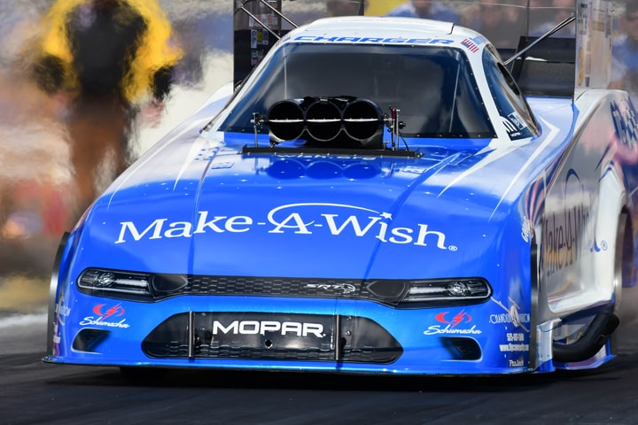 Beckman's NHRA Funny Car Honors MD Anderson Cancer Center