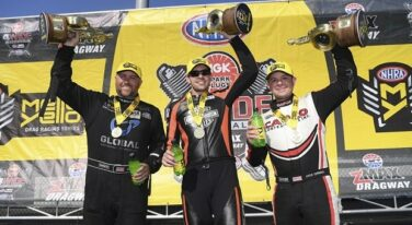 NHRA Firsts Earned at the NGK Spark Plugs NHRA Four-Wide Nationals