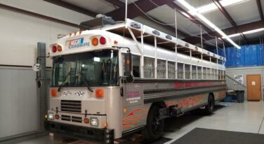 "Today's Cool Car Find is the ""Boogity"" Racing Party Bus"