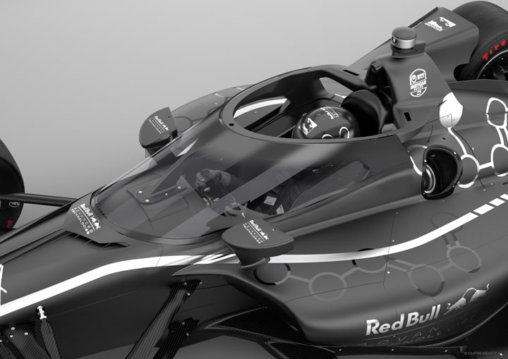 INDYCAR and Red Bull Advanced Technologies Introduce Driver Aeroscreen