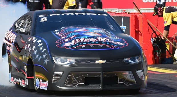 At NHRA's Richmond Race, Only Steve Torrence Can Be a Repeat Winner