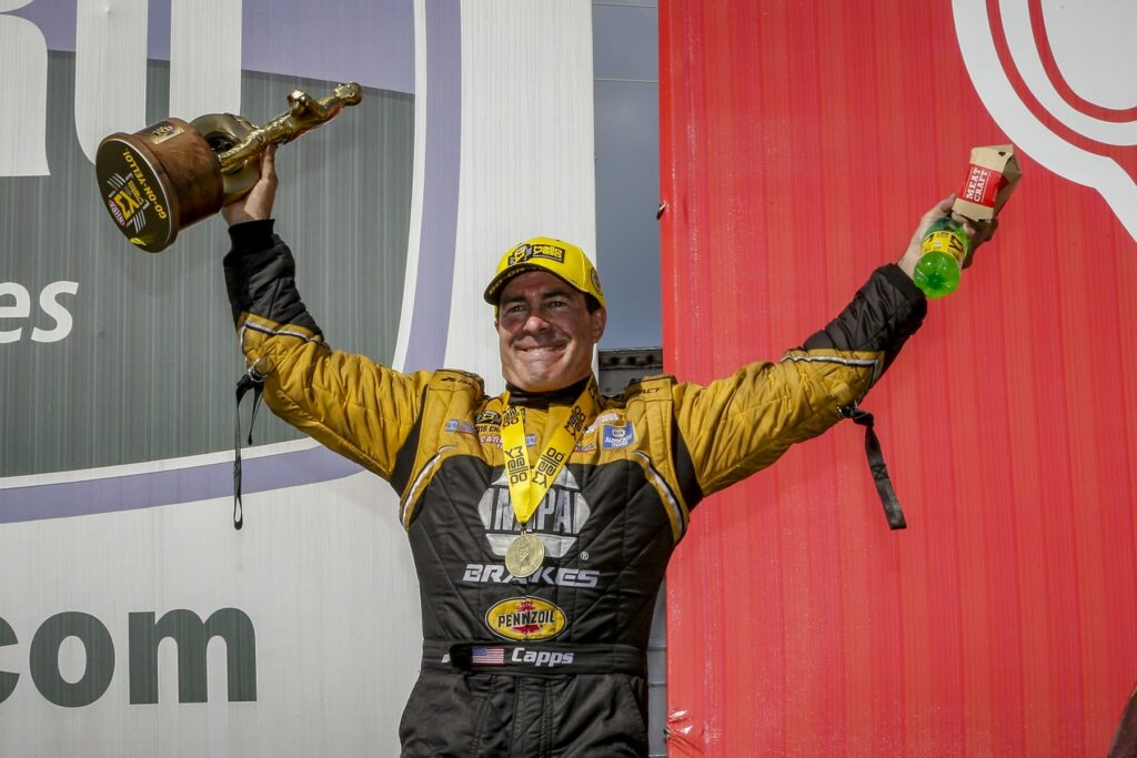 Torrence, Capps and Hines Earn Added Victories at Arby's NHRA Southern Nationals