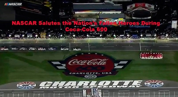 Reddick, Truex Jr. Survive Heat as NASCAR Salutes Fallen Heroes in Charlotte