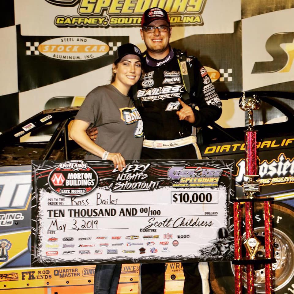 Ross Bailes Earns First World of Outlaws Win of the Season