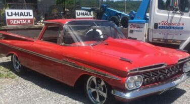 Today's Cool Car Find is this Supercharged 1959 Chevrolet El Camino for $32,500