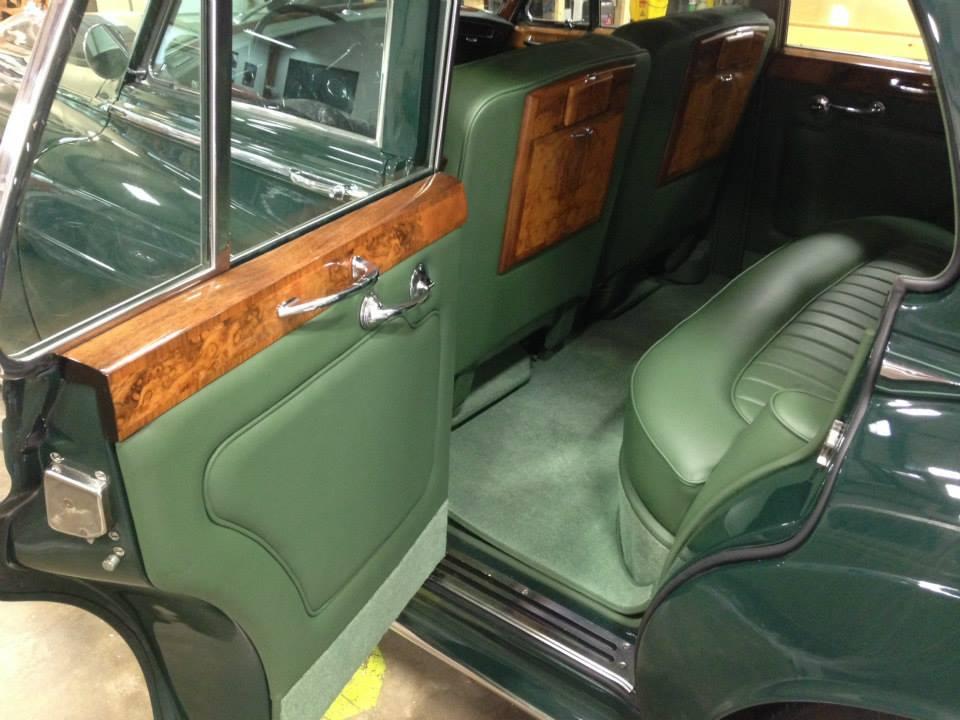 Gillin Auto Interiors Rolls Royce