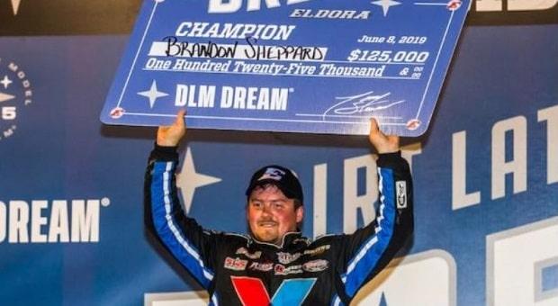 Brandon Sheppard Lives the Dream at Eldora Speedway