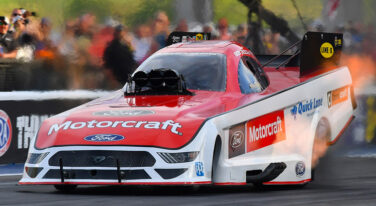 Tasca's New Ford Mustang Takes out Force in Bristol for Fifth NHRA Funny Car Win