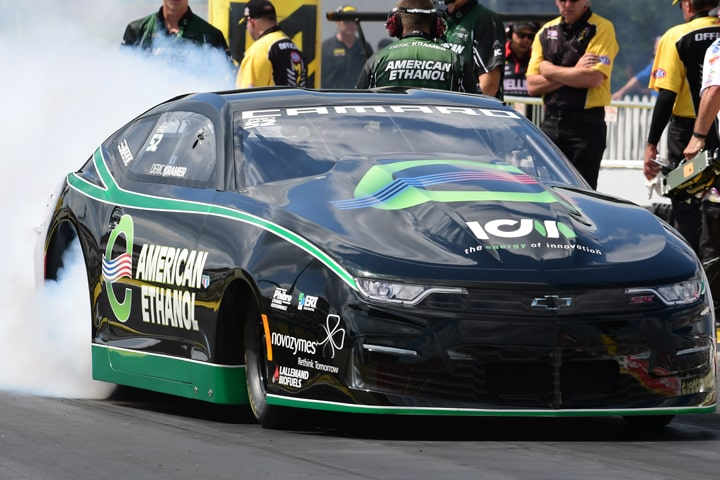 Deric Kramer Shows Pro Stock Potential with Joliet Win