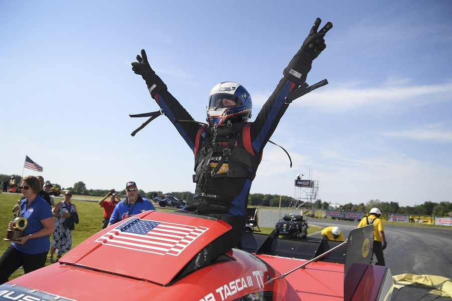 Torrence, Tasca and McGaha Race to a Win Streak at Summit Racing Equipment NHRA Nationals