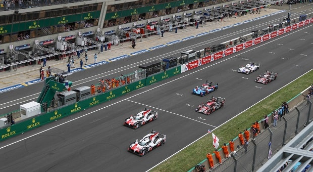 Drivers Battle for Victory at the 24 Hours of Le Mans 2019