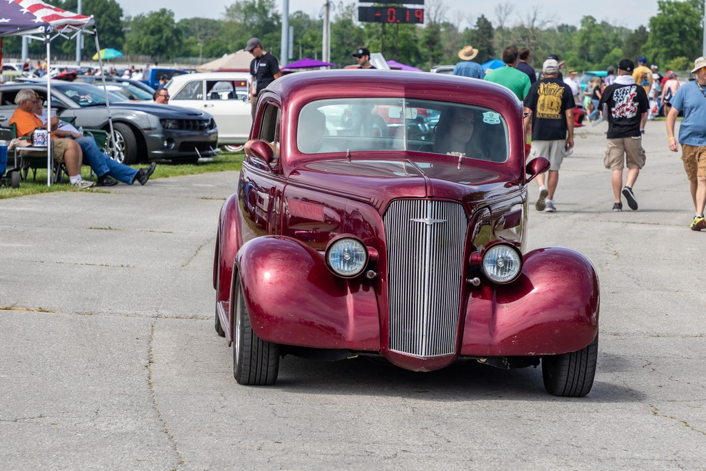 Hot Rod Power Tour in the Sun