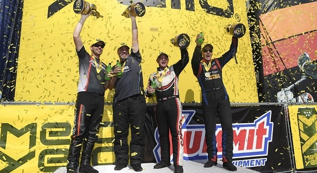 Torrence, Tasca and McGaha Race to a Win Streak at Summit Racing