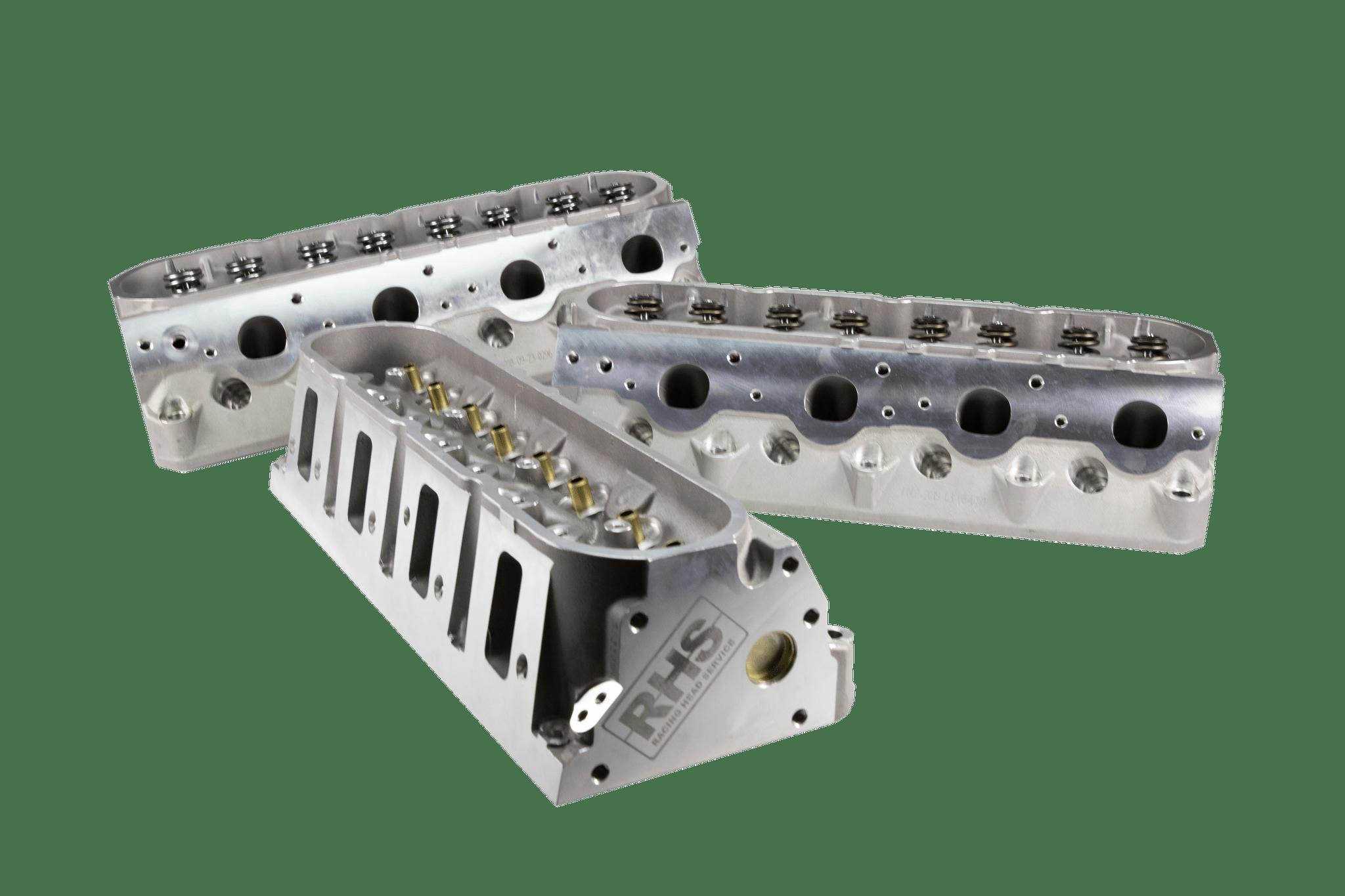 RHS Pro Action Rectangle Port Aluminum Cylinder Heads