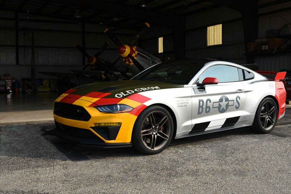 """Ford, Roush Debut """"Old Crow"""" Mustang GT for Auction"""