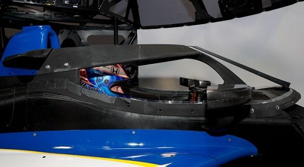 Dixon Tests INDYCAR Aeroscreen On Simulator