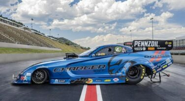 Hagan Debuts Dodge Charger SRT Hellcat Widebody Graphics at Bandimere