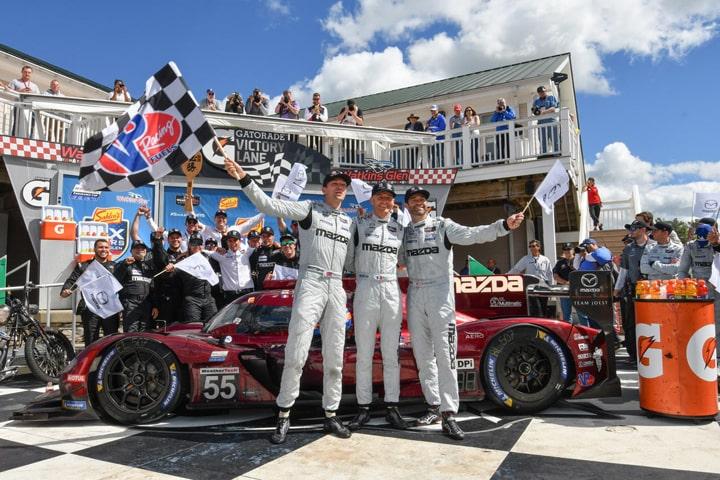 Mazda Team Joest Breaks Through