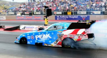 Funny Car Wide Open in Denver's Rare Air