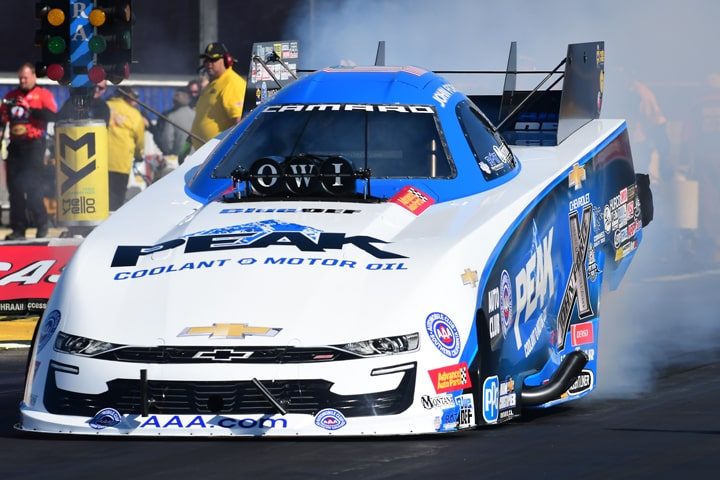 Win 150 Around the Corner for John Force