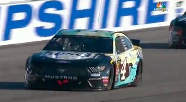 NASCAR Puts on Awesome Show at New Hampshire, Harvick Breaks Losing Streak