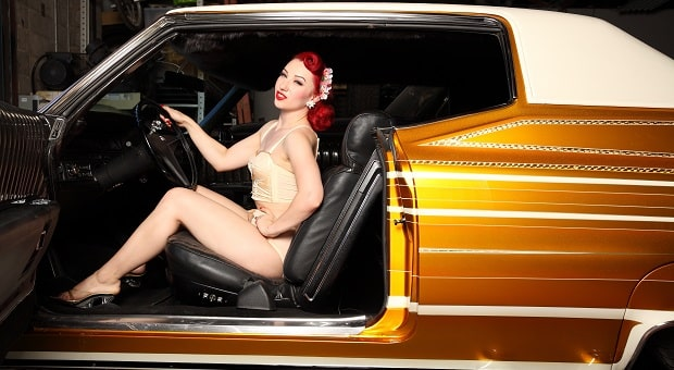 Mitzi's Pinup Corner Pinup of the Week: Miss Lady Lace