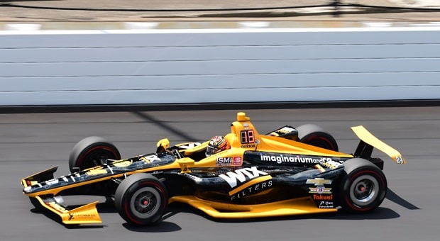 Sage Karam Takes Advantages of IndyCar Opportunities