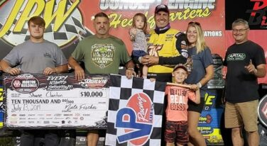Clanton and Junghans Score Breakthrough Wins at Two State World of Outlaws Morton Buildings Late Model Series Weekend