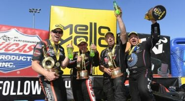 Repeat Wins Earned in NHRA's Latest Trip to Wine Country