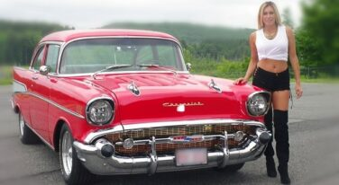 Calendar Car: Rick Astle's Red 1957 Chevy
