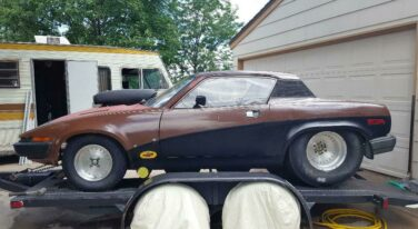 Today's Cool Car Find is this 1976 Triumph TR7