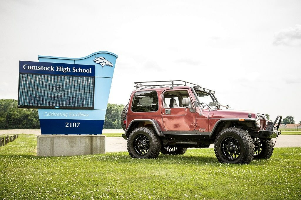 Student Jeep Builds Bring Over $130K at Auction