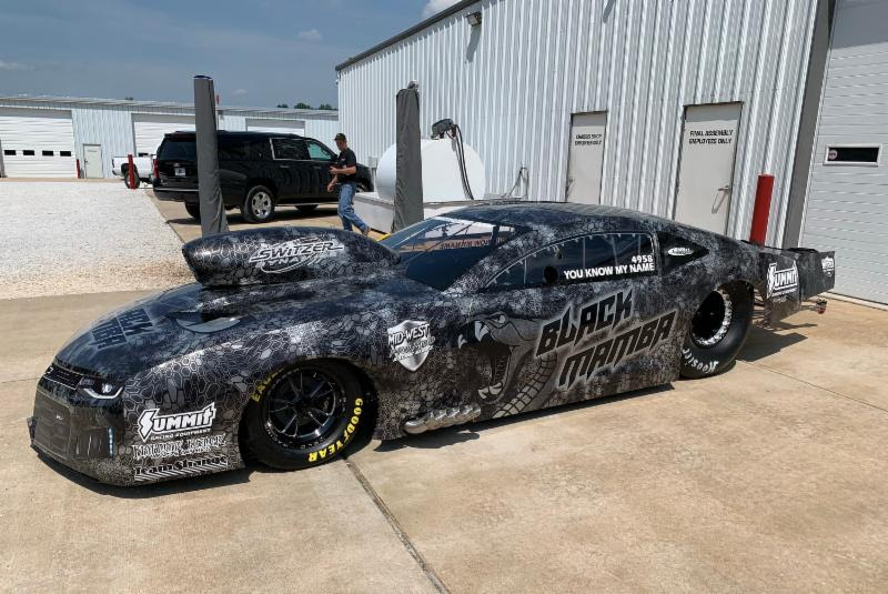 Haney Unveils Bickel Built Black Mamba 2019 Camaro