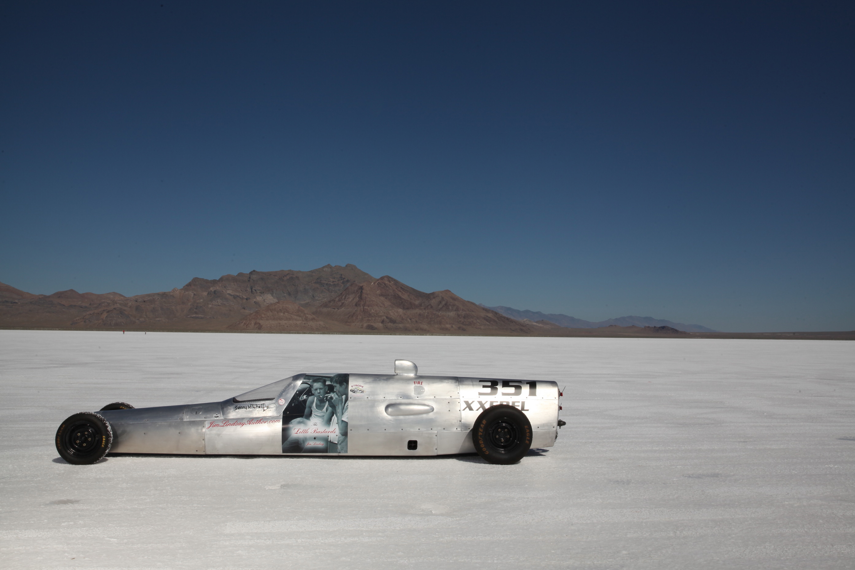 Bonneville Salt Flats: Learning How