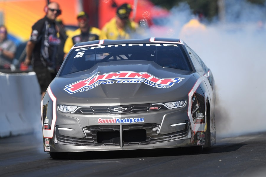 Pritchett Back on Top at Lucas Oil NHRA Nationals, Hight Also Soars