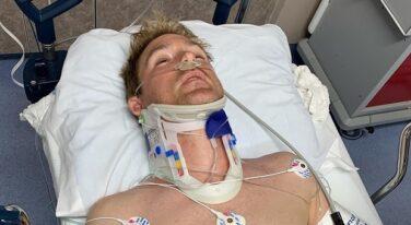 Scott Speed Suffers Broken Back