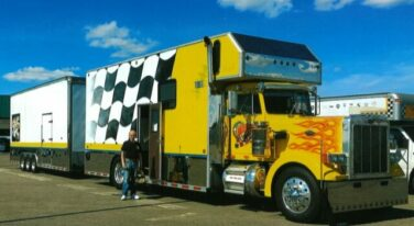 Today's Cool Car Find is this Peterbuilt RV Hauler for $65,000