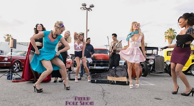 Pinup Pole Show Pinup of the Week: Team Celebration