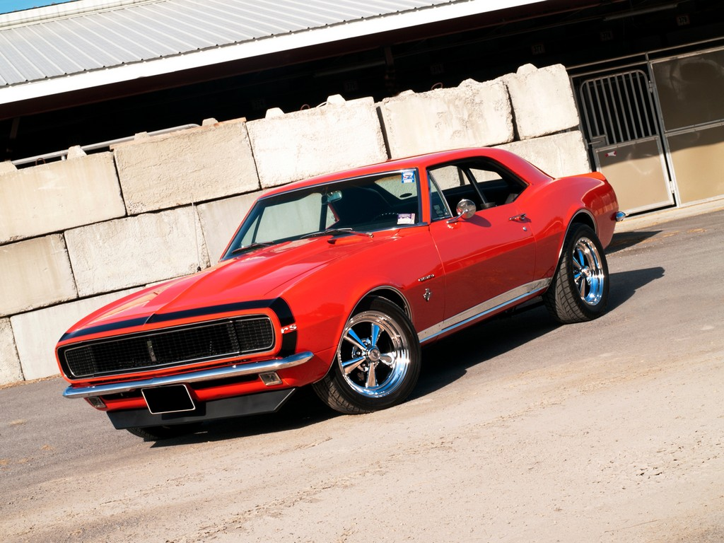 Muscle Car Madness: 1967 Camaro RS