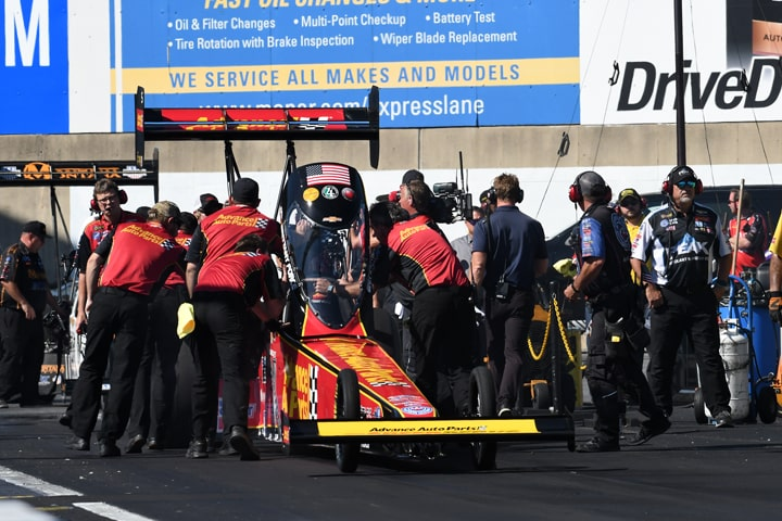 Upsets Fuel NHRA Points Changes