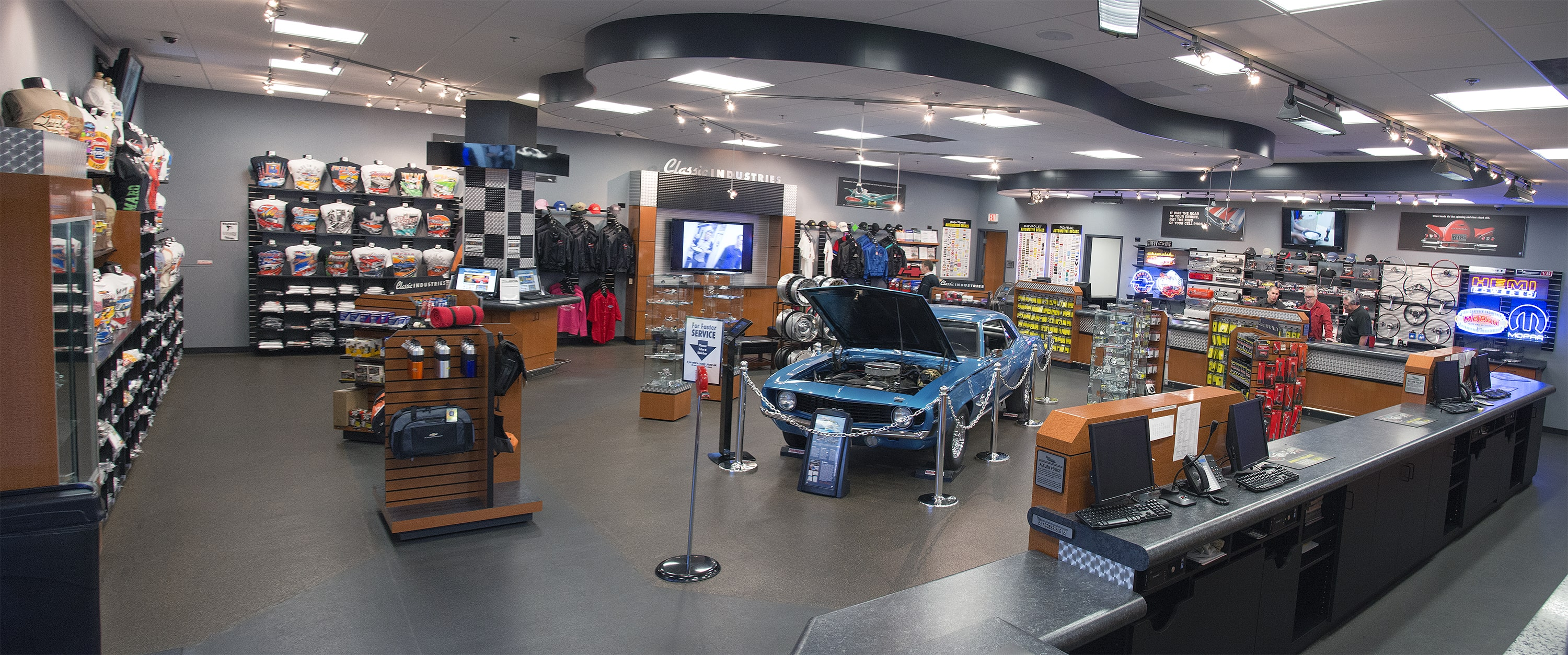 Classic Industries Showroom