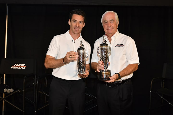 BorgWarner Honors Simon, Norman Pagenaud and Roger Penske