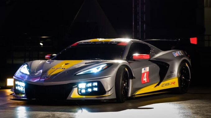 Corvette Racing Shows 2020 C8.R IMSA Competitor ...